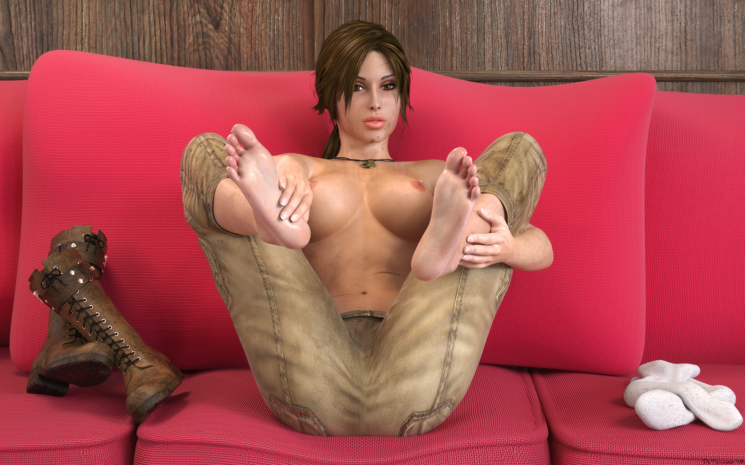 Nude and sexy images of lara croft fucks comic